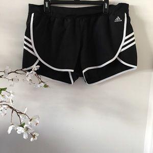 Adidas Climalite Black White Shorts Size XL